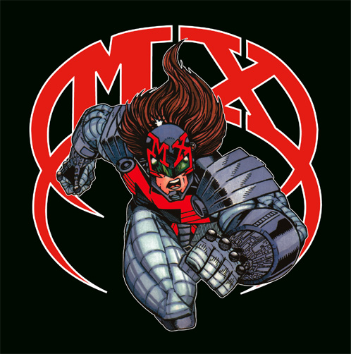 MX Superhero CD Cover